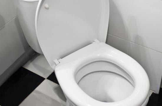 Værste mareridt: rotte kom op af WC