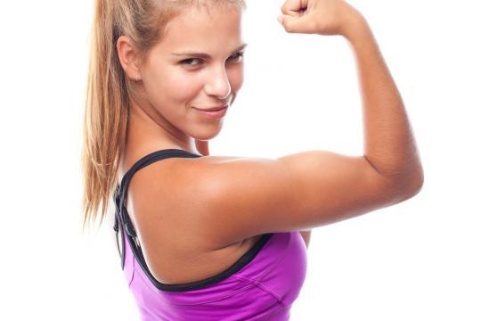 Kvinder vil være stærke fremfor tynde