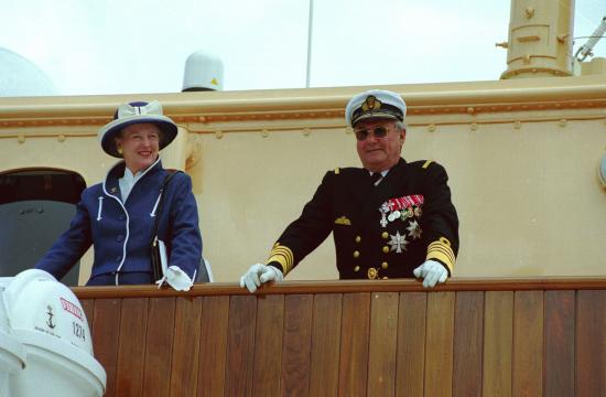 Chok: Henrik vil ikke begraves med Margrethe