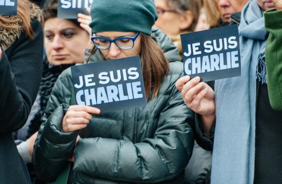 """Charlie Hebdo-tegner: """"Vi er alle danskere"""""""