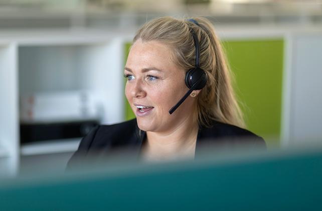 Ase kundeservice hjælper over 18.000 mennesker om måneden
